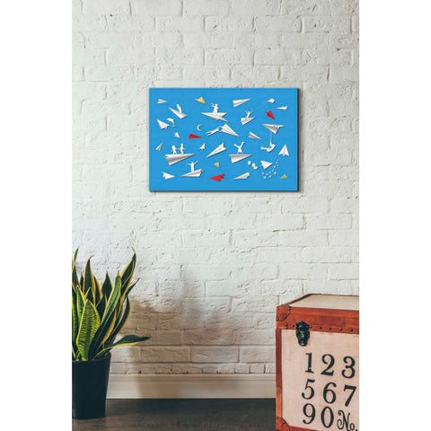 'Paper Planes' Giclee Canvas Wall Art