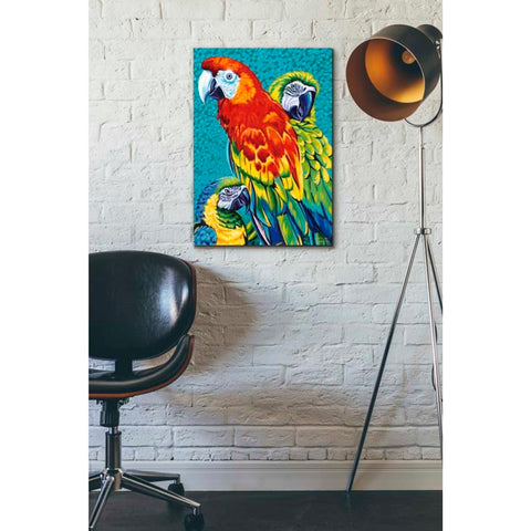 Image of 'Birds in Paradise III' by Carolee Vitaletti Giclee Canvas Wall Art