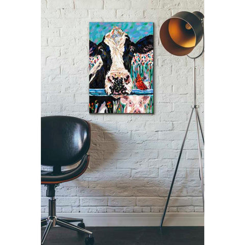 Image of 'Farm Buddies II' by Carolee Vitaletti Giclee Canvas Wall Art