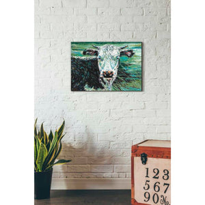 'Marshland Cow I' by Carolee Vitaletti Giclee Canvas Wall Art
