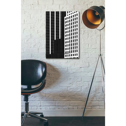 'NYC in Pure B&W II' by Jeff Pica Giclee Canvas Wall Art