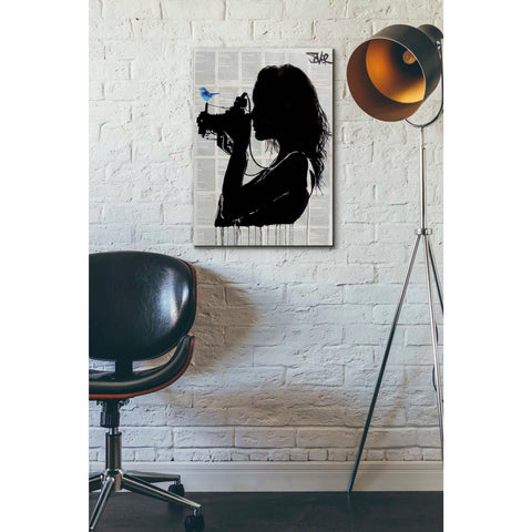 Image of 'The Vintage Shooter' by Loui Jover, Canvas Wall Art,18 x 26