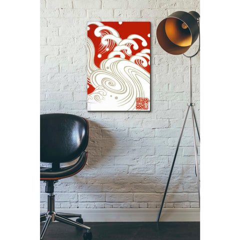 Image of 'Wave A' by Zigen Tanabe, Giclee Canvas Wall Art