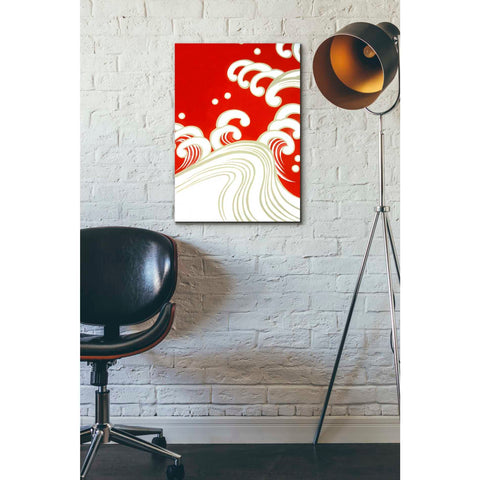 'Wave B' by Zigen Tanabe, Giclee Canvas Wall Art