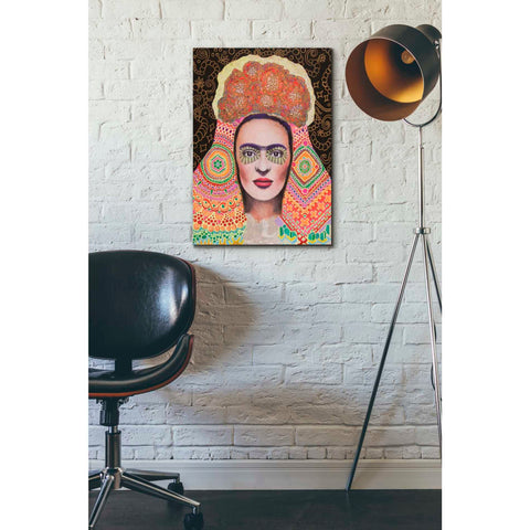 'Frida Santa Muerte' by Surma and Guillen, Giclee Canvas Wall Art