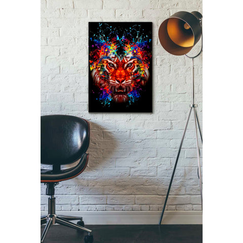 Image of 'Dubtiger' Canvas Wall Art,18 x 26