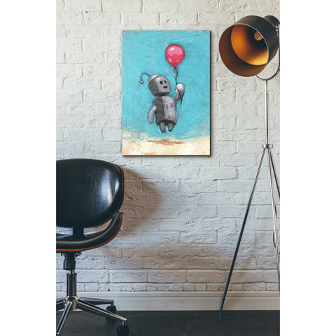 Image of 'Bot Balloon' by Craig Snodgrass, Canvas Wall Art,18 x 26