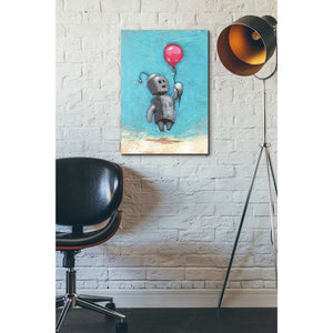 'Bot Balloon' by Craig Snodgrass, Canvas Wall Art,18 x 26