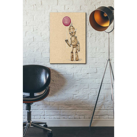 Image of 'Ink Bot Balloon' by Craig Snodgrass, Canvas Wall Art,18 x 26