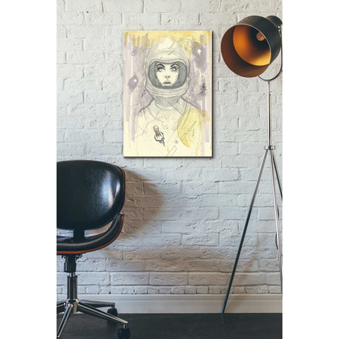 "Image of ""Space Queen Gold"" by Craig Snodgrass, Giclee Canvas Wall Art"