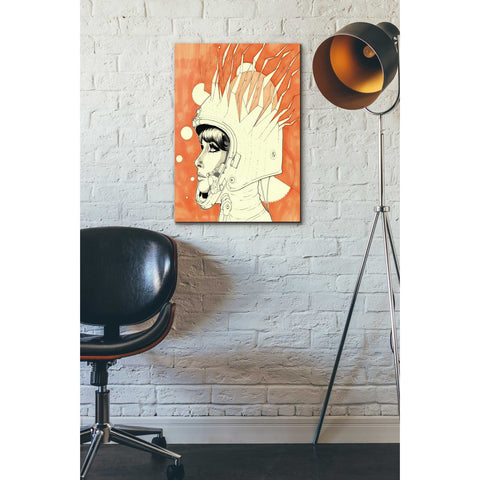 "Image of ""Space Queen Fire"" by Craig Snodgrass, Giclee Canvas Wall Art"