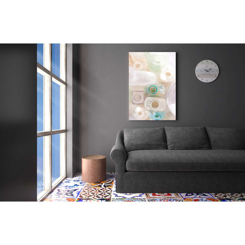 Image of 'Abstract Bottles' by Elena Ray Canvas Wall Art,18 x 26