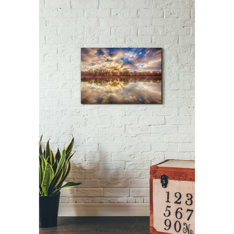 Image of 'Chatfield Sunrise' by Darren White, Canvas Wall Art,18 x 26