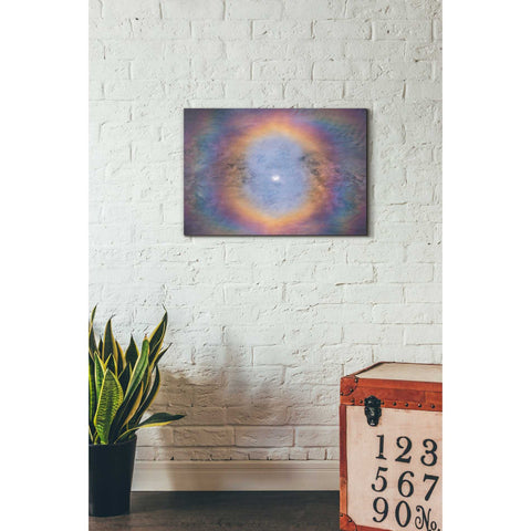 'Eye of the Eclipse' by Darren White, Canvas Wall Art,18 x 26