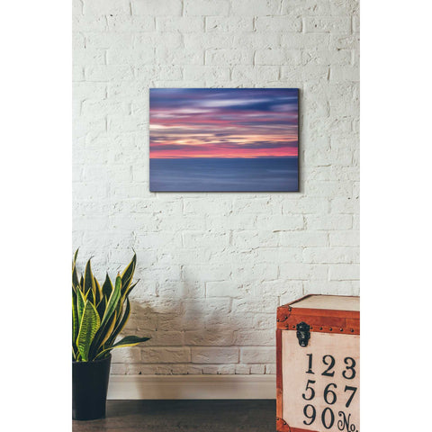 'One Minute Sunrise' by Darren White, Canvas Wall Art,18 x 26