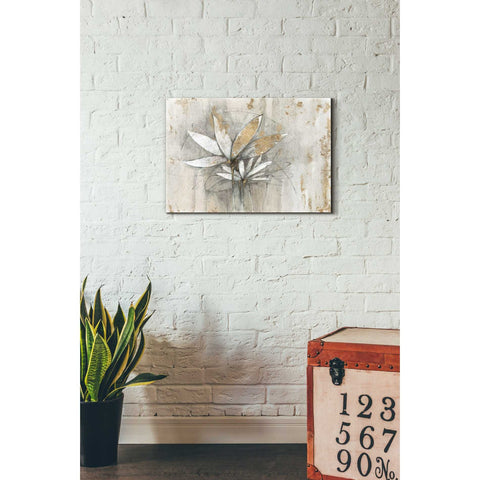 "Image of ""Windflowers Gold"" by Avery Tillmon, Giclee Canvas Wall Art"