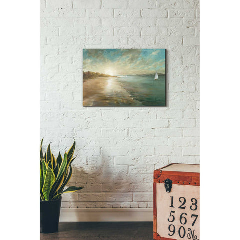 Image of 'Coastal Glow' by Danhui Nai, Canvas Wall Art,18 x 26
