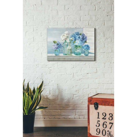 Image of 'A Beautiful Day at the Beach' by Danhui Nai, Canvas Wall Art,18 x 26