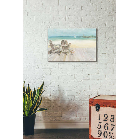 """Seaside Morning"" by Danhui Nai, Giclee Canvas Wall Art"