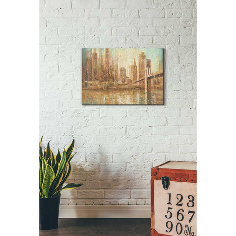 Image of 'Champagne City' by Danhui Nai, Canvas Wall Art,18 x 26