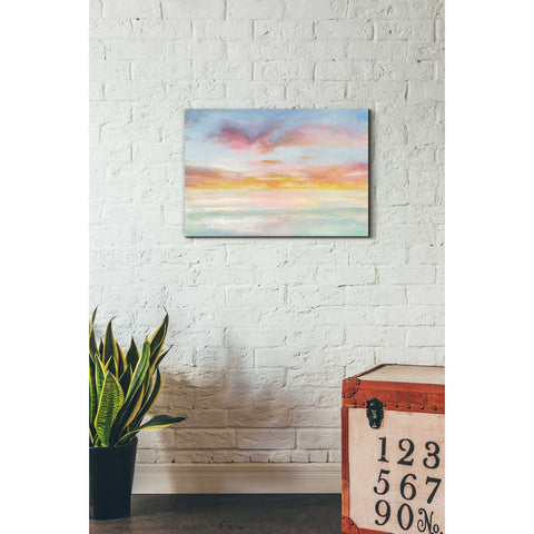 Image of 'Pastel Sky' by Danhui Nai, Canvas Wall Art,18 x 26