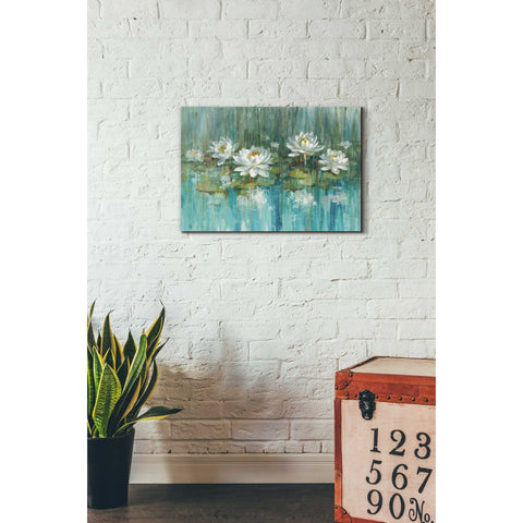 """Water Lily Pond"" by Danhui Nai, Giclee Canvas Wall Art"
