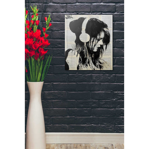 Image of 'Melodies Solace' by Loui Jover, Giclee Canvas Wall Art