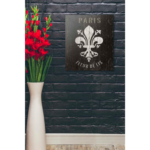 Image of 'Refurbished Fleur-de-lis' by Wild Apple Portfolio, Giclee Canvas Wall Art