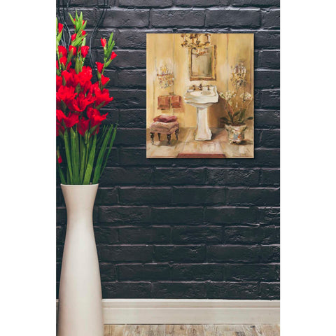 'French Bath III' by Marilyn Hageman, Giclee Canvas Wall Art