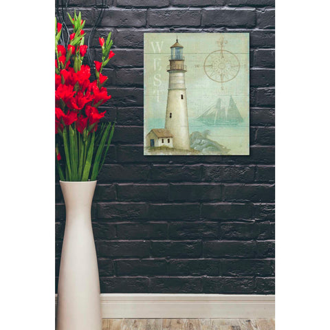 'West Coastal Light' by Daphne Brissonet, Giclee Canvas Wall Art