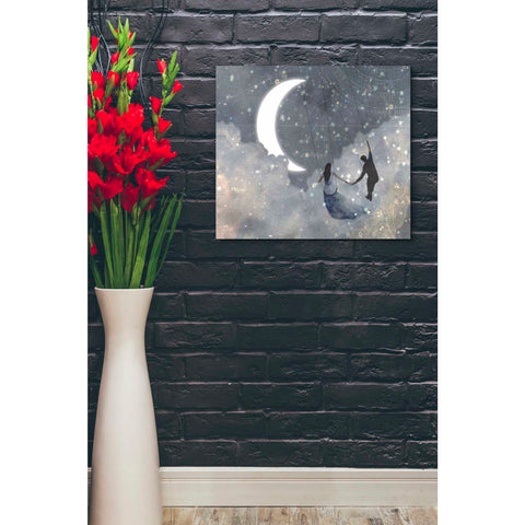 Image of 'Celestial Love I' by Victoria Borges Giclee Canvas Wall Art