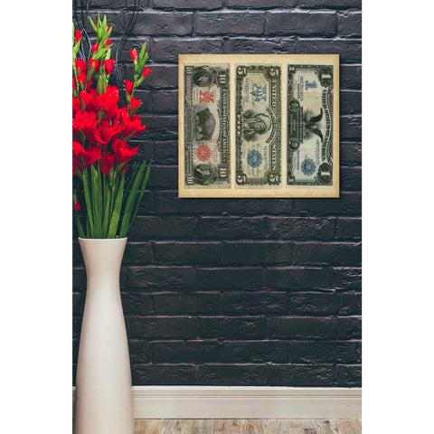 Image of 'Antique Currency VI' by Vision Studio Giclee Canvas Wall Art