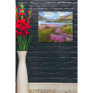 'Heather Scotland' by Chris Vest, Giclee Canvas Wall Art