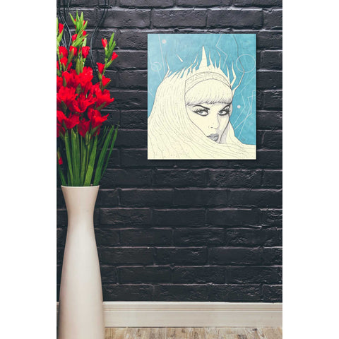 """Space Queen Ice"" by Craig Snodgrass, Giclee Canvas Wall Art"