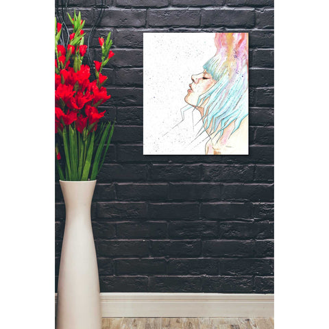 "Image of ""Space Queen Rebirth"" by Craig Snodgrass, Giclee Canvas Wall Art"