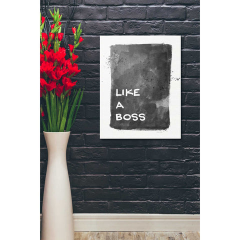 'Like A Boss' by Linda Woods, Canvas Wall Art,20 x 24