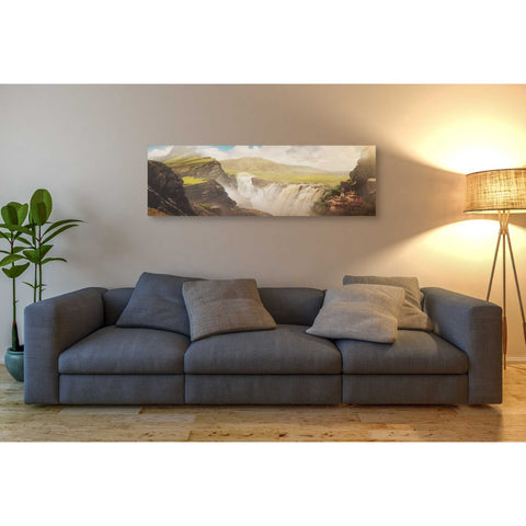 'Epic Valley' by Jonathan Lam, Giclee Canvas Wall Art