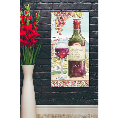 Image of 'Wine Country V' by Daphne Brissonet, Giclee Canvas Wall Art