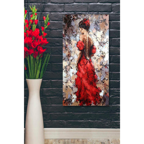 Image of 'Baile' by Alexander Gunin, Canvas Wall Art,20 x 40