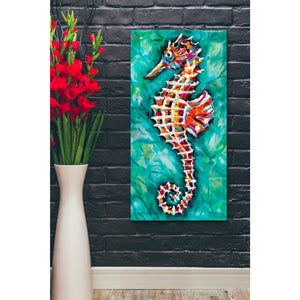'Radiant Seahorse II' by Carolee Vitaletti Giclee Canvas Wall Art