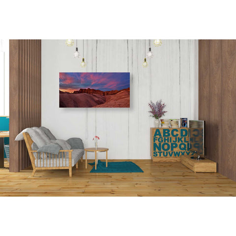 """Ruby Sunset,"" Giclee Canvas Wall Art"