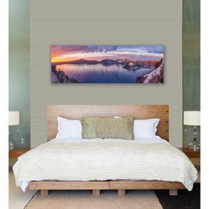 'Volcanic Sunset' by Darren White, Canvas Wall Art,20 x 60