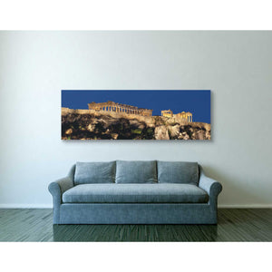 """Hellenic Spotlight,"" Giclee Canvas Wall Art"