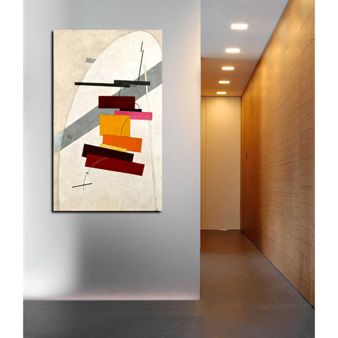 Image of 'Untitled' by El Lissitzky Canvas Wall Art,24 x 40