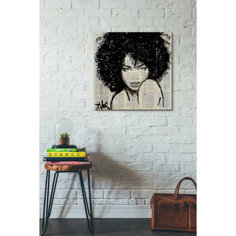 Image of 'Angel' by Loui Jover, Giclee Canvas Wall Art
