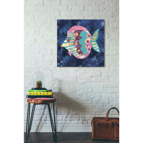 'Boho Reef IV' by Wild Apple Portfolio, Giclee Canvas Wall Art