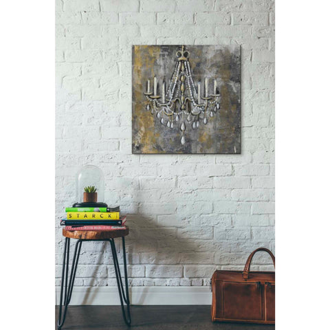 """Vintage Chandelier II"" by Silvia Vassileva, Giclee Canvas Wall Art"
