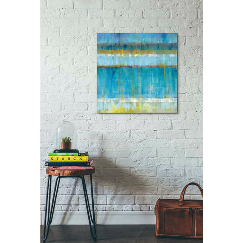 """Abstract Stripes"" by Danhui Nai, Giclee Canvas Wall Art"