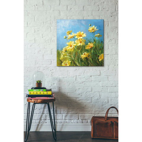 """Summer Field I"" by Danhui Nai, Giclee Canvas Wall Art"