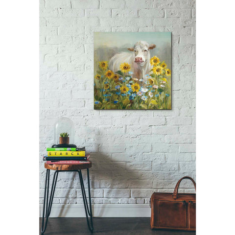 "Image of ""Farm and Field I v2 Crop"" by Danhui Nai, Giclee Canvas Wall Art"